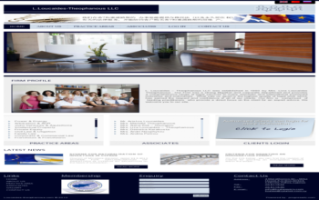 Liza Loucaide A Theophanous LLC Launched New Web Presence