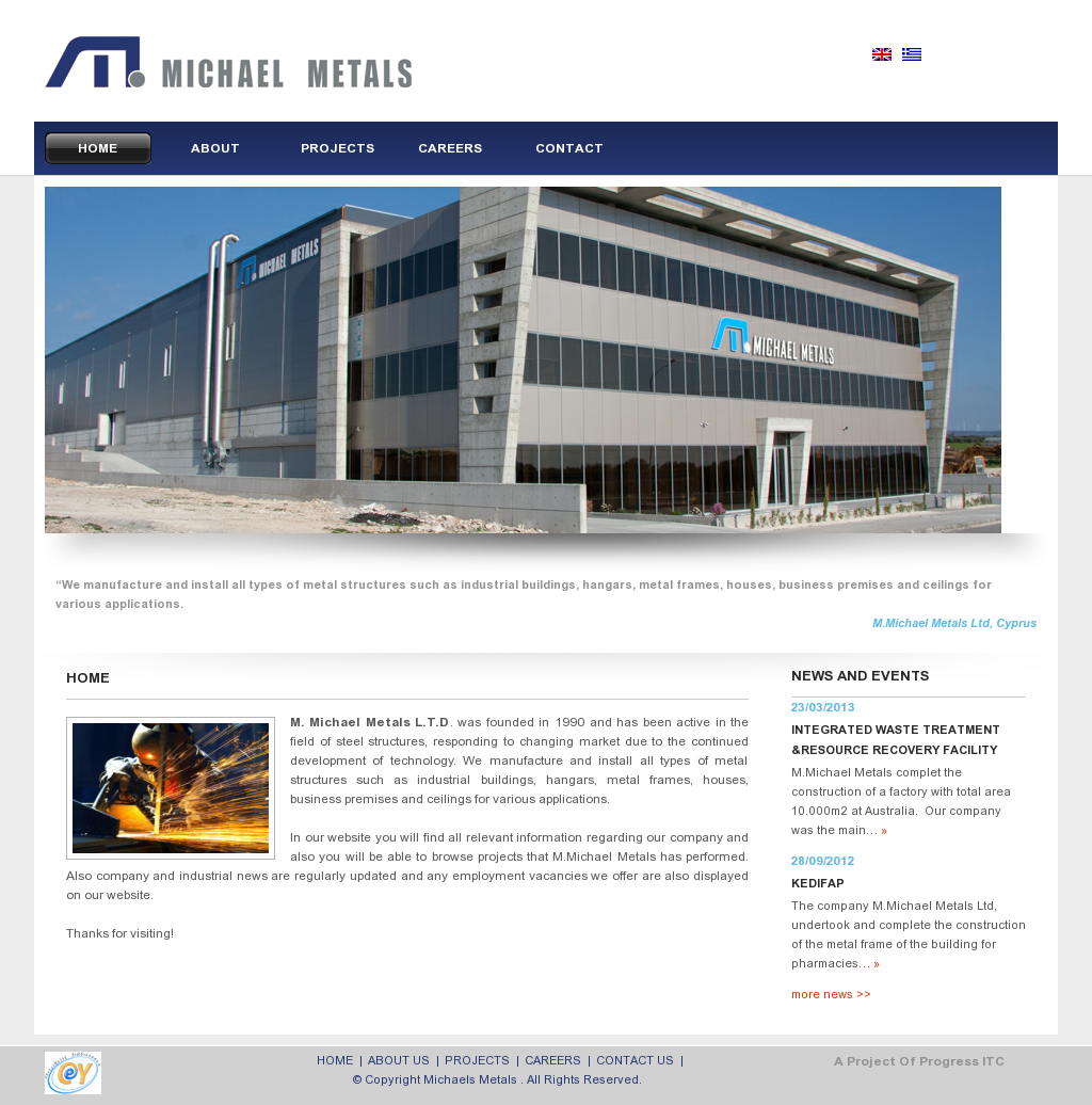 M.MICHAEL METALS LTD