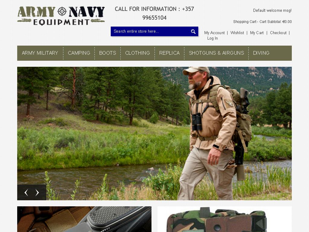 ARMY-NAVY-EQUIPMENT.COM