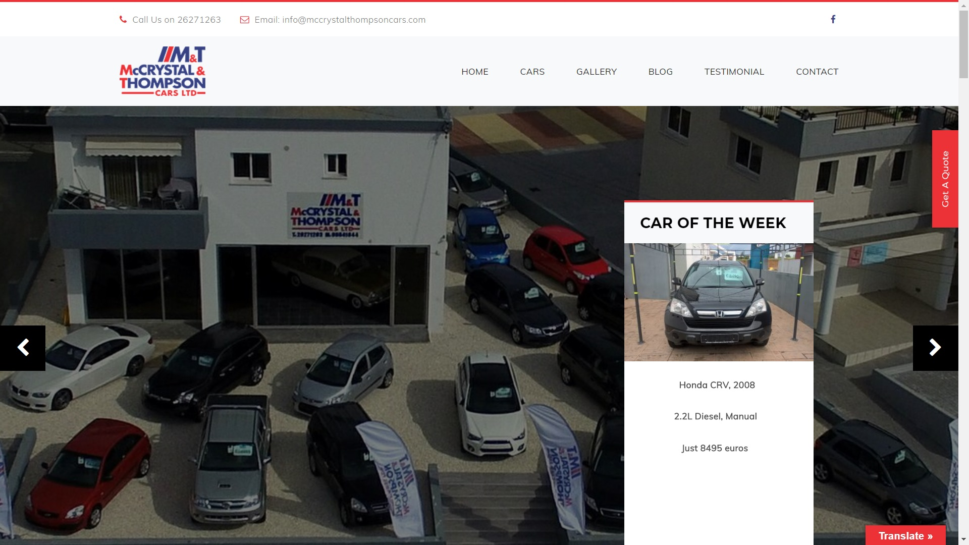 MCCRYSTALTHOMPSONCARS.COM