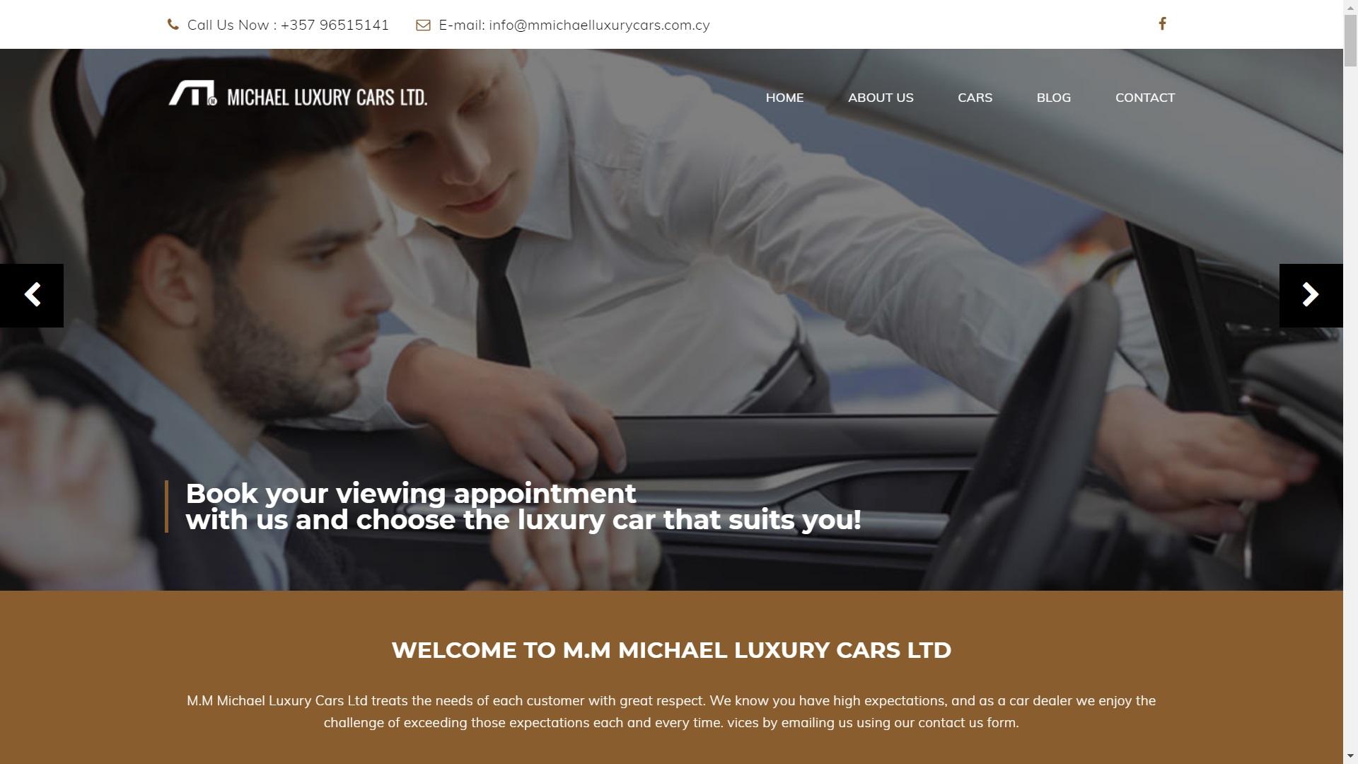 MMICHAELLUXURYCARS.COM.CY