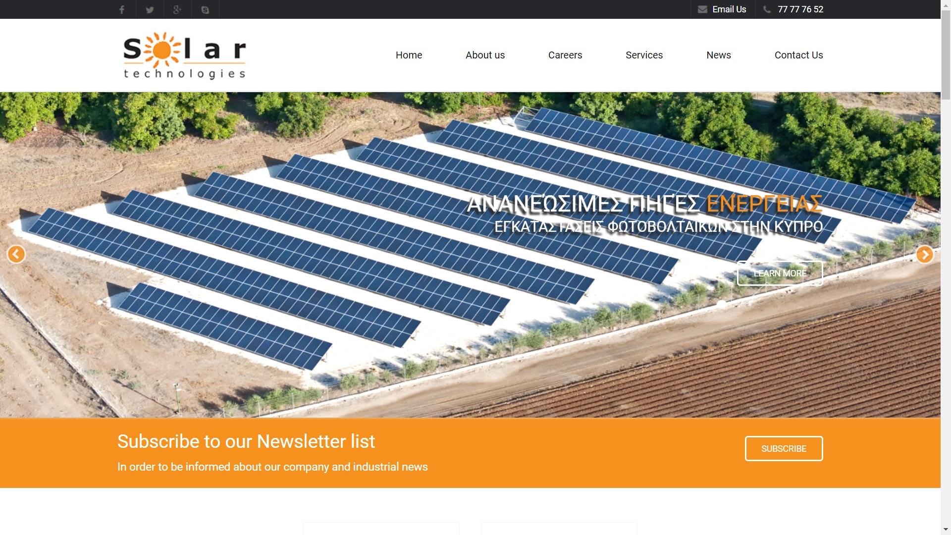 SOLARTECHNOLOGIES.COM.CY